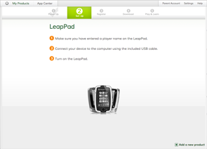 LeapFrog Connect Screenshot